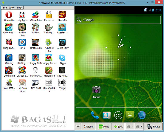 YouWave for Android 4.1.0 Full Patch (Android Emulator) 2