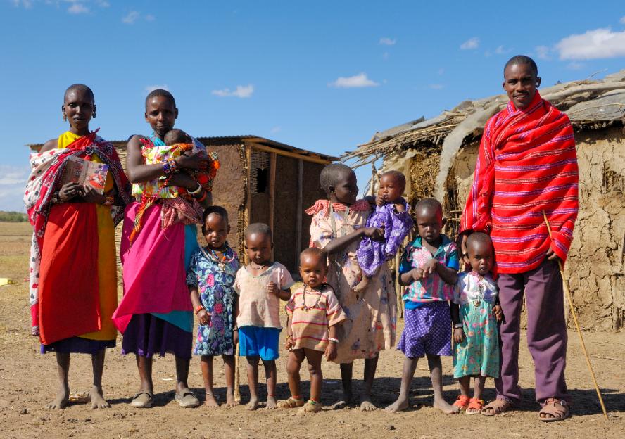 Masai in kenia