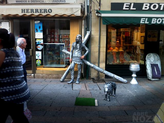 Cristo en la calle Mayor, 2015 Abbé Nozal