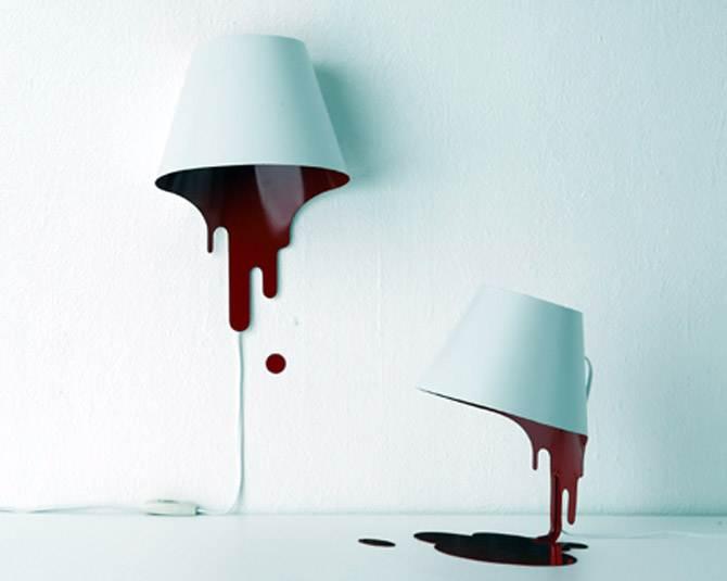 Liquid Lamp Motion Lighting Design