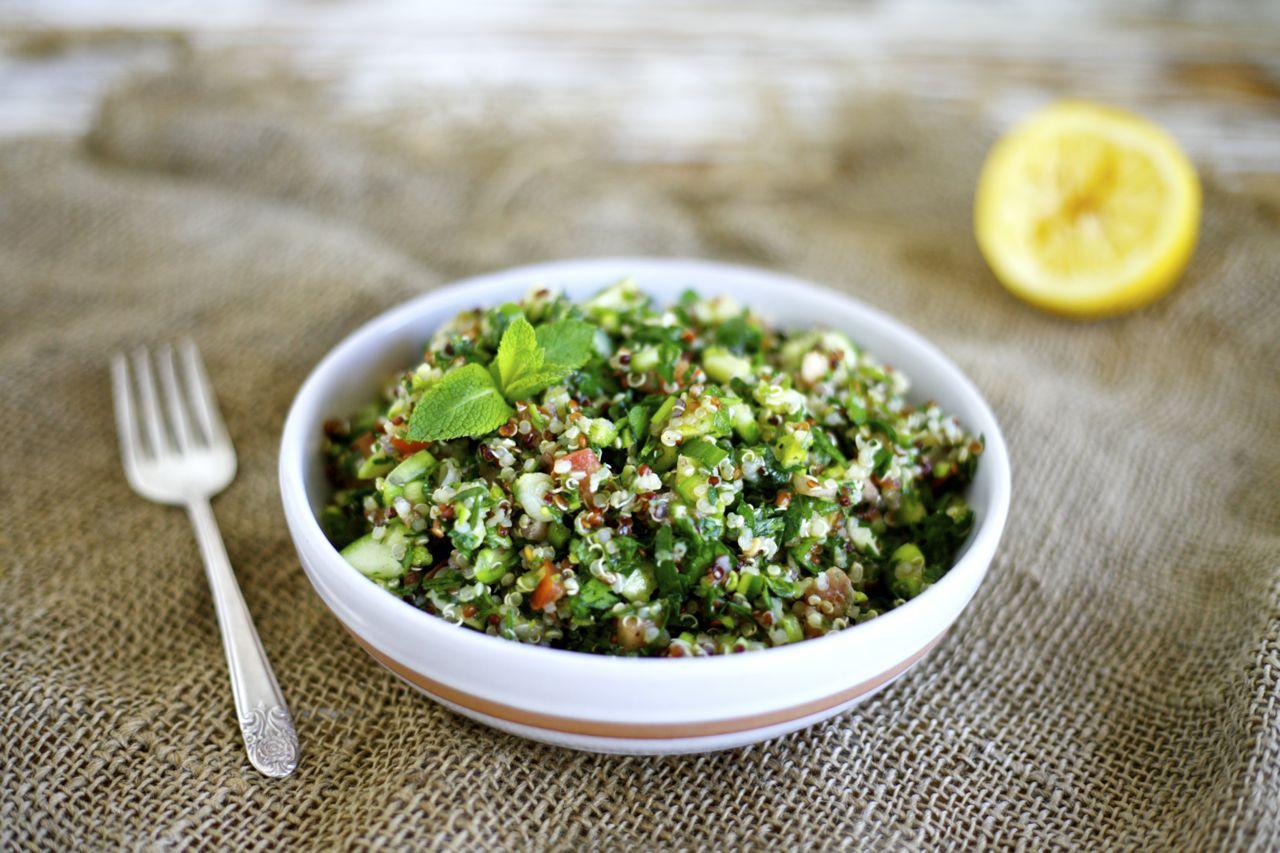 Quinoa & Asparagus Tabbouleh