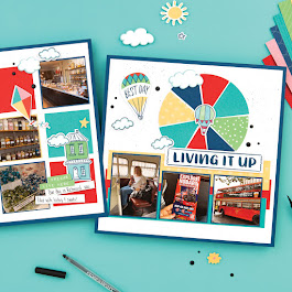 The May NATIONAL SCRAPBOOK MONTH SPECIAL - Blue Skies!