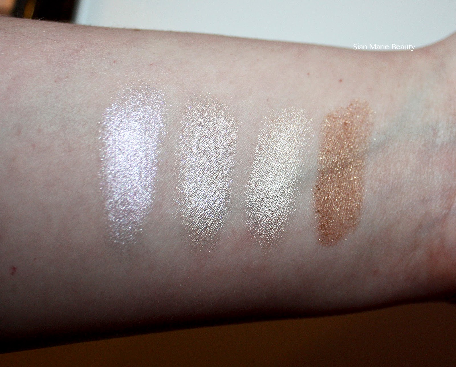 Sleek Precious Metals Review on Sian Marie Beauty