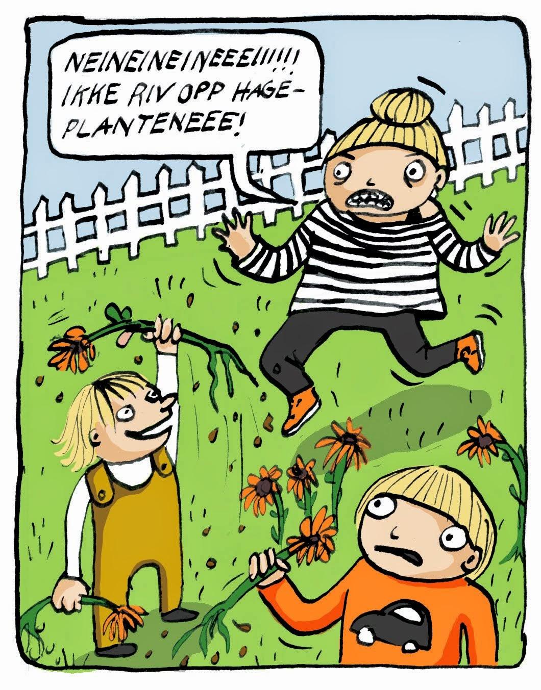 min tegneserieblogg: