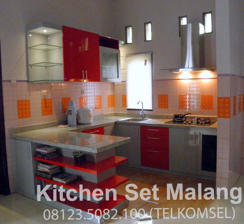 Kitchen set minimalis murah di malang harga kitchen set for Kitchen set malang