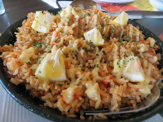 peruvian chicken rice
