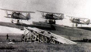 «самолет-звено» на базе бомбардировщика ТБ-3