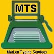 MarLen Typing Services