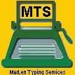 MarLen Typing Services