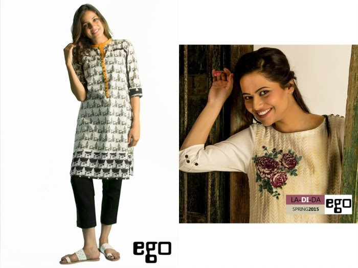 Ego Fashionable & Exclusive Women Wear Collection 2015