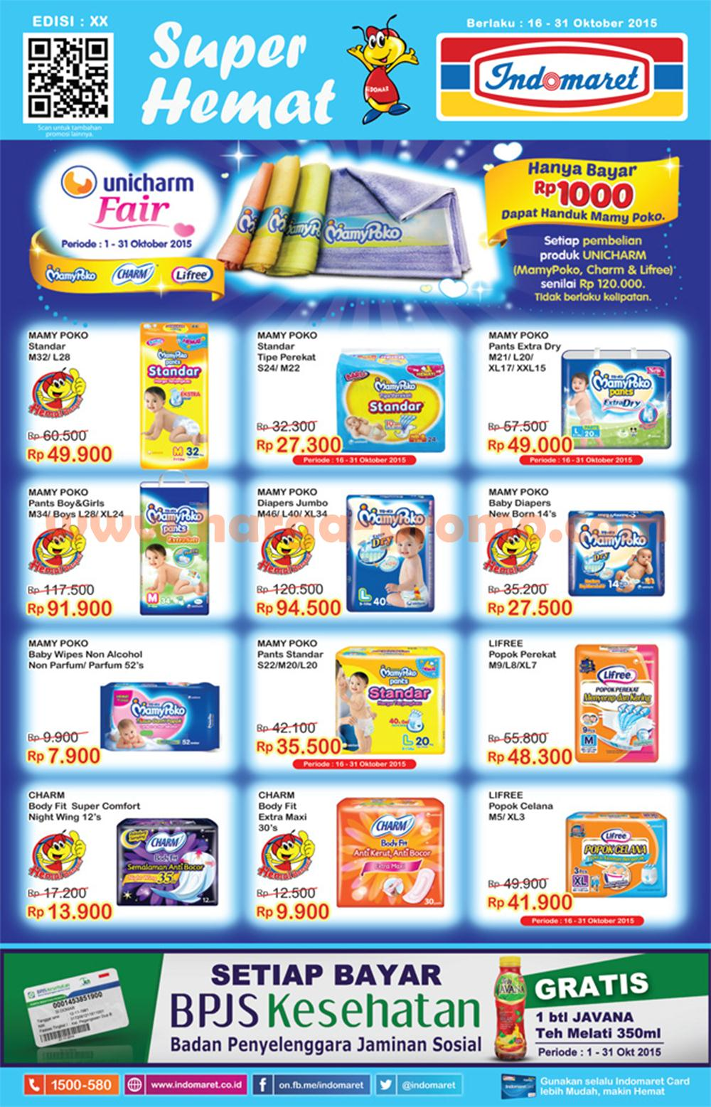 Katalog Promo Indomaret Minggu Ini 25 31 Oktober 2015 Daftar