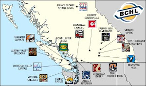 BCHL Team Locations