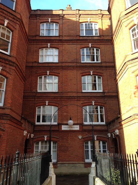 Faraday Mansions, West Kensington, London