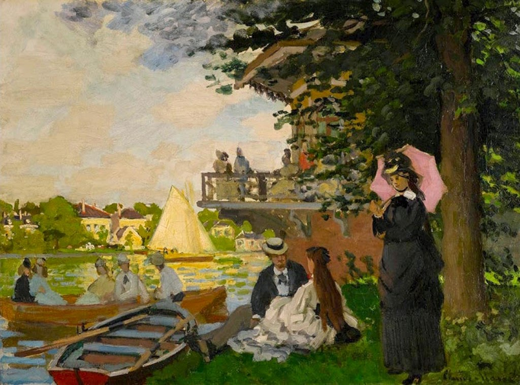 Claude Monet L′Embarcadère. 1871