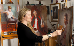 Welcome To The Blog of Portrait Painter Johanna Spinks. Click on image below for website.