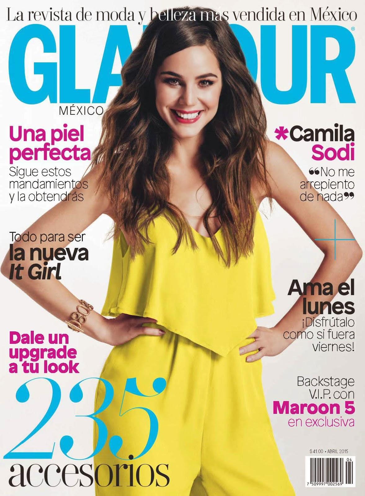 Singer, Actress, Model @ Camila Sodi by Dan Crosby for Glamour Mexico, April 2015