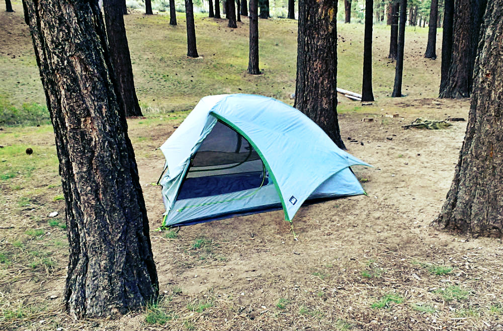 Camping at Davis Creek Regional Park and Hiking Ophir Creek Trail by Beth Hemmila