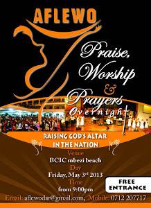 AFLEWO TANZANIA, TAR 3 MAY 2013. VENUE: BCIC - MBEZI, DSM, TZ