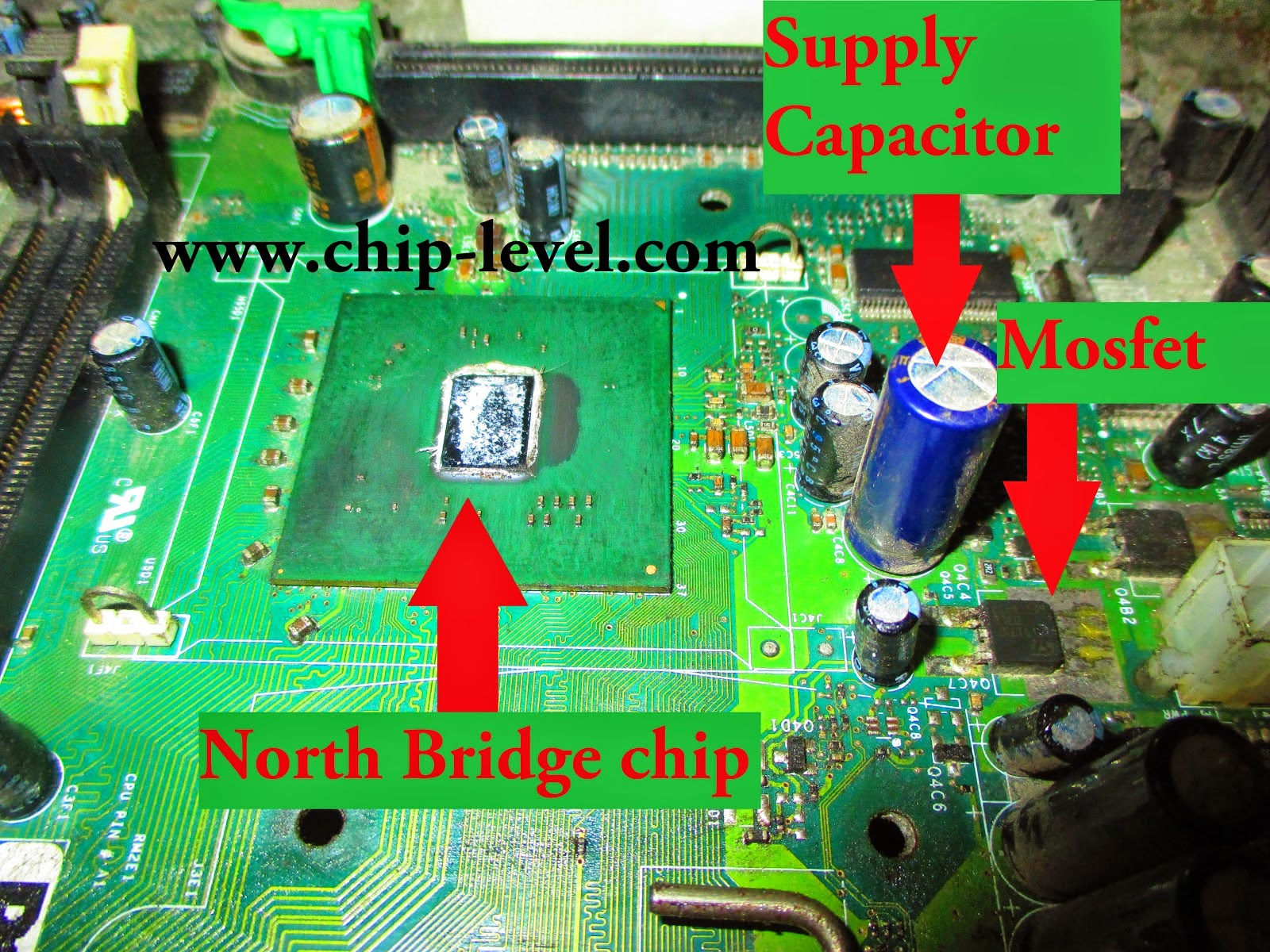 North Bridge in Motherboard