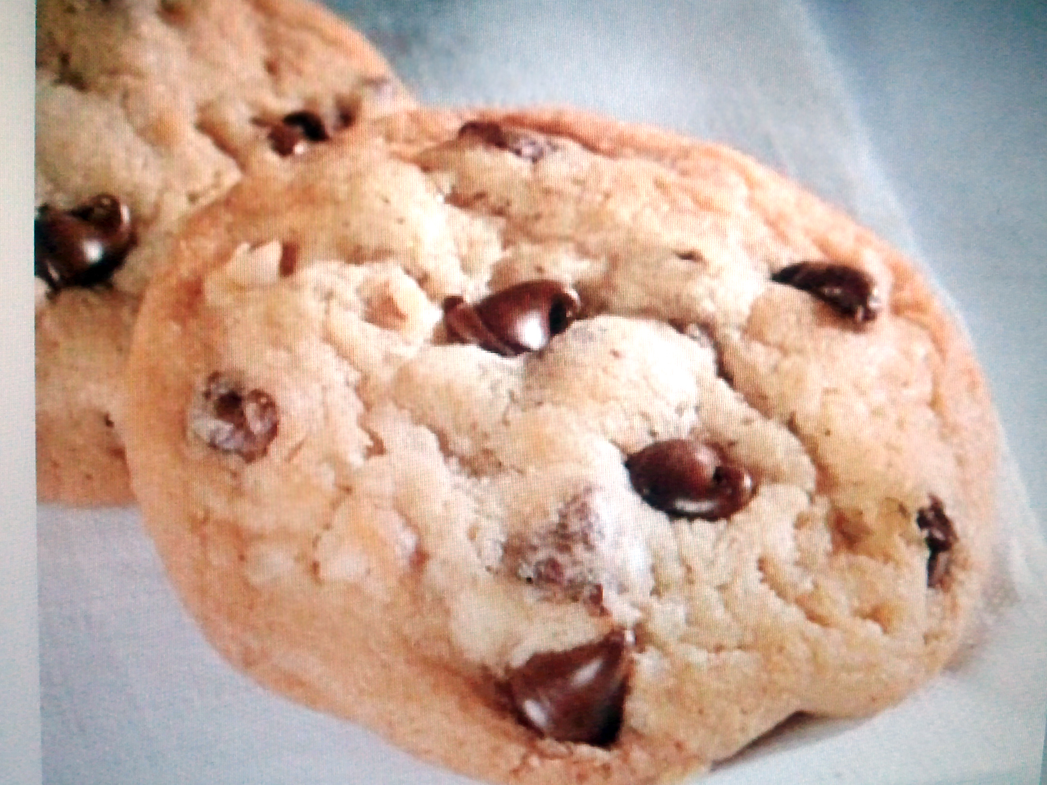 Angel's Kitchen: Nestle Toll-House-style Chocolate Chip Cookies ...