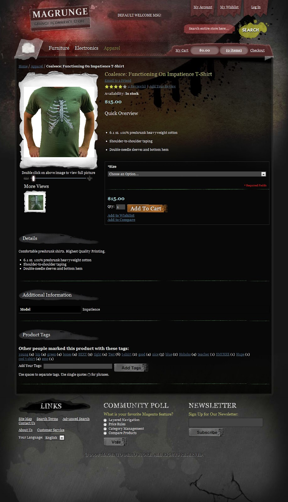 Ecommerce-Magento-Dark-Grunge-Transparent-Theme