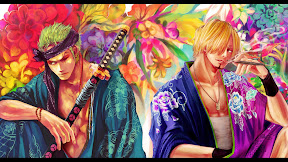 ONE PIECE Sanji Zoro