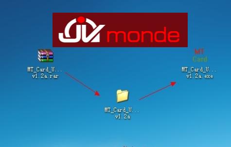 Bienvenu sur jvmonde mt card 1 1 1 2 tutoriel fran ais for Fenetre qui clignote