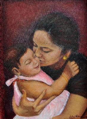 Asha Shenoy Mother and Child