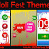 Holi Fest Theme For Nokia 202,300,303,X3-02,C2-02,C2-03,C2-06,C3-01 and Touch and Type Devices