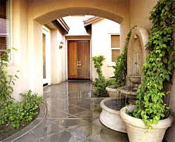 Homes Modern Fountain Designs Ideas