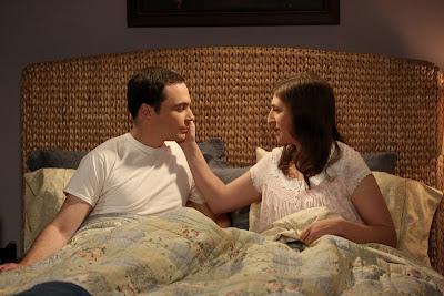 Sheldon (Jim Parsons) e Amy (Mayim Bialik) - Divulgação