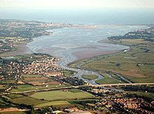 River Exe estuary