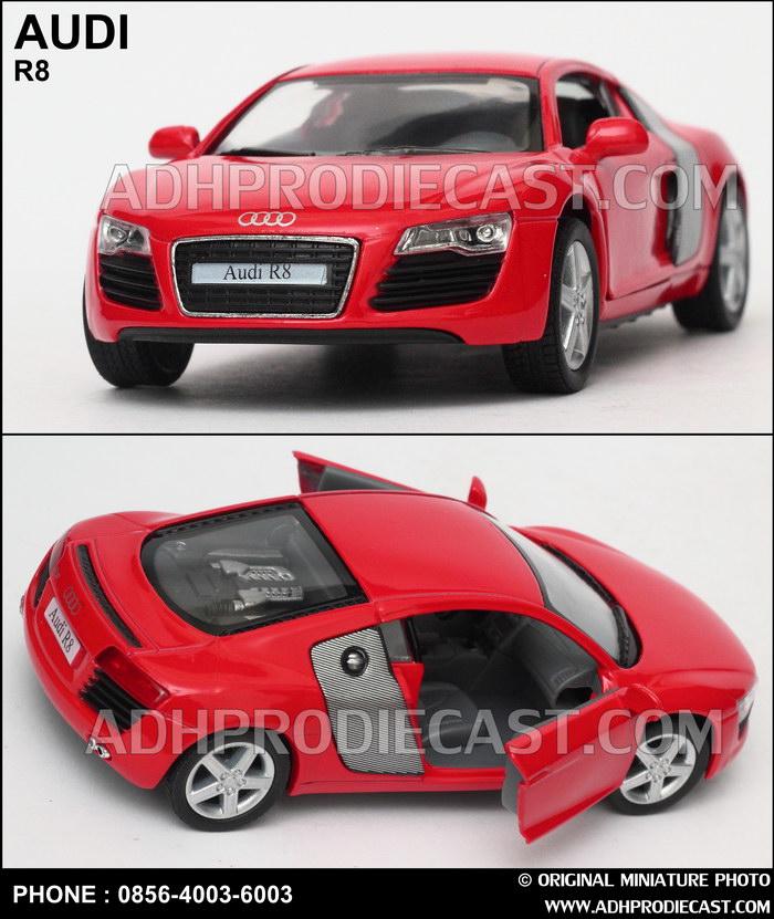 Miniatur Mobil Audi R8 (Red)