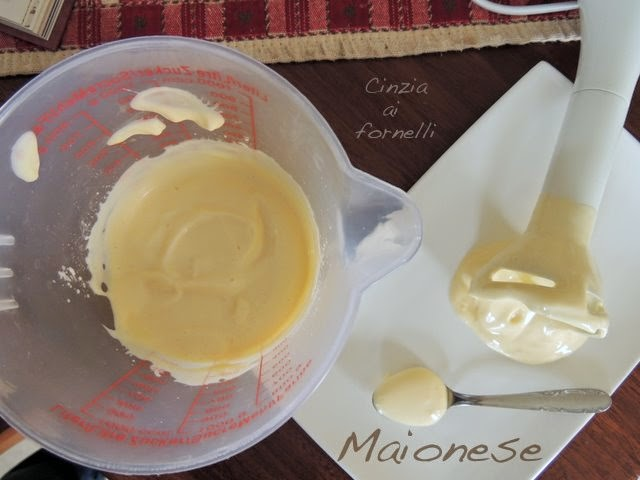 maionese ricetta facile e veloce