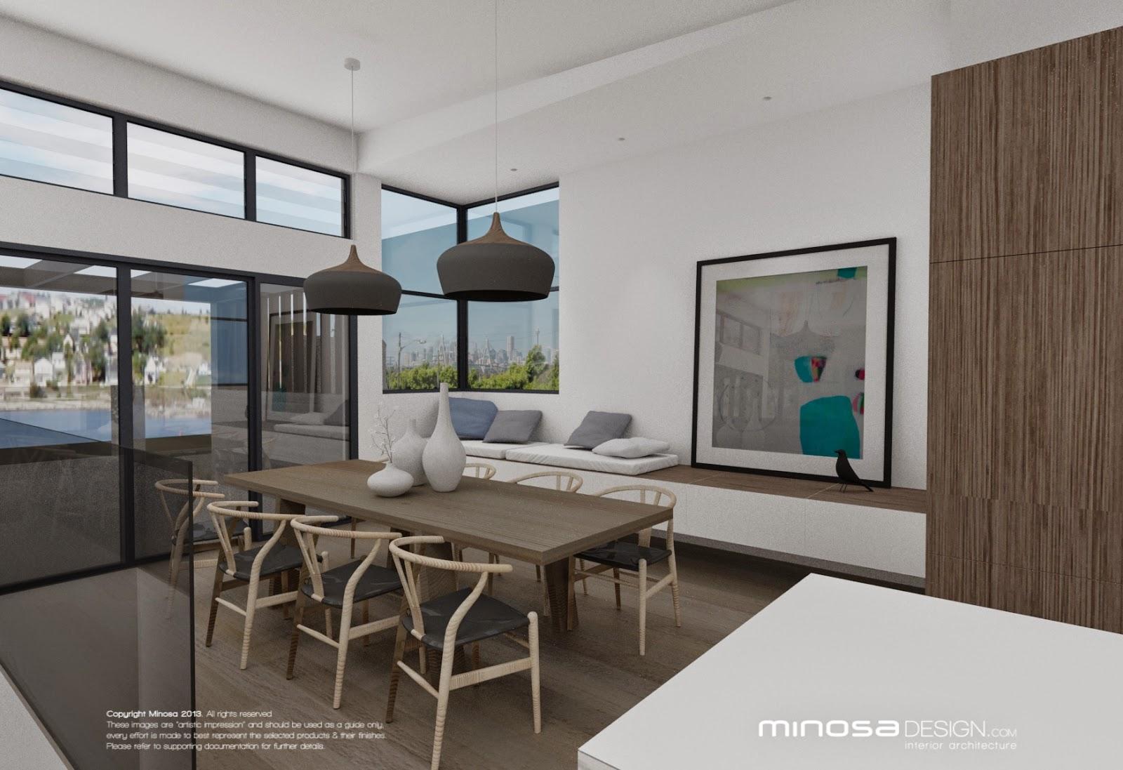 Minosa Kitchen Living Dinning Room Modern Interior Design Help Sydney  All Glass Wood Gloor Marble Inner West Design 023