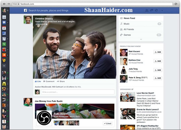 HOW TO : Enable the New  Facebook News Feed