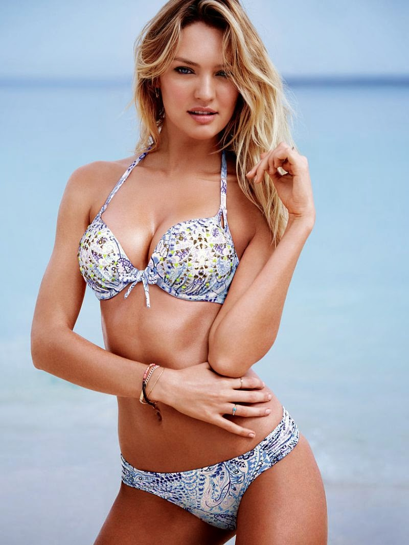 Victoria's Secret Swim April 2015 Lookbook starring Candice Swanepoel
