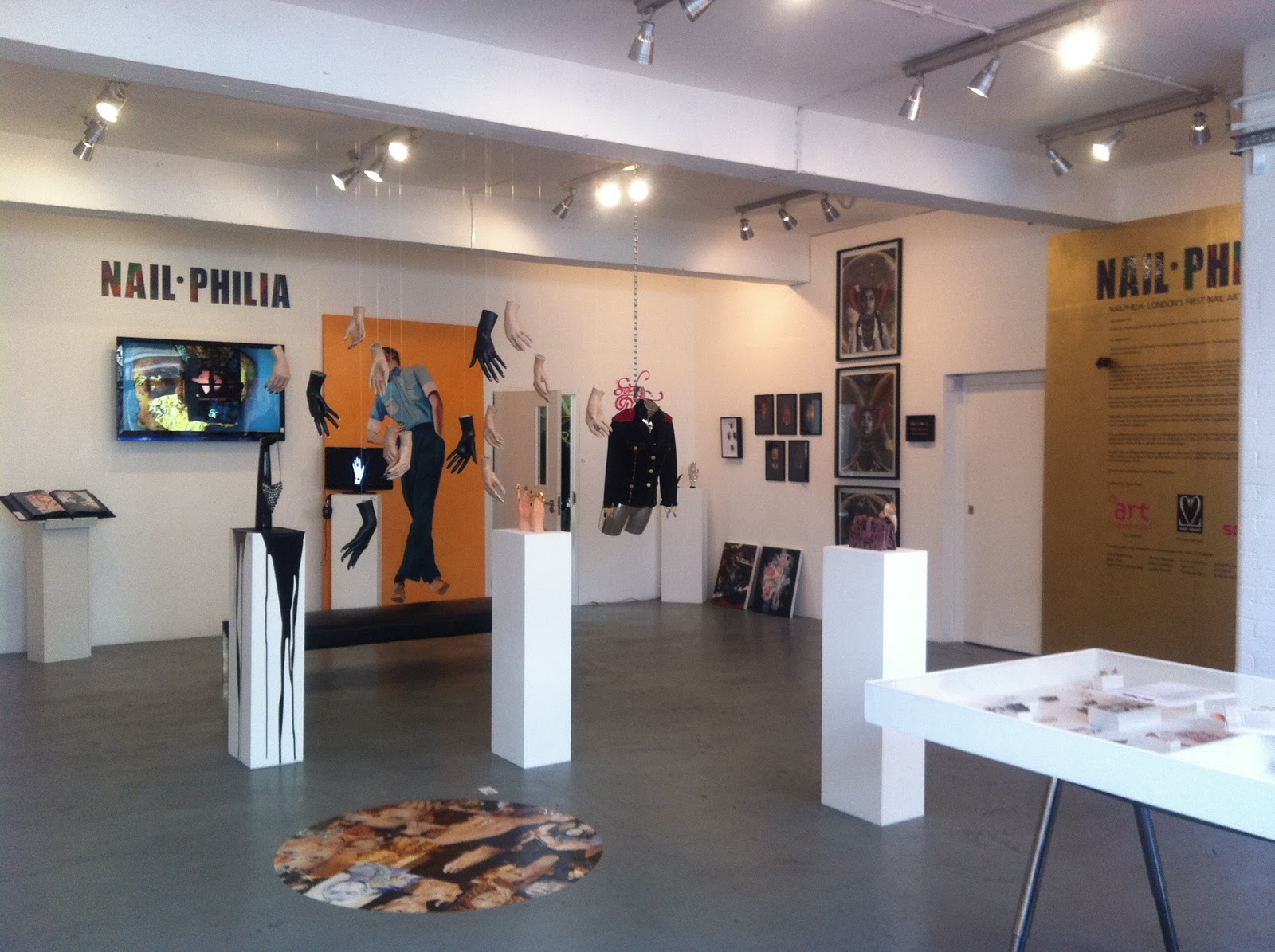 London Lacquer Nail Philia A Nail Art Exhibition