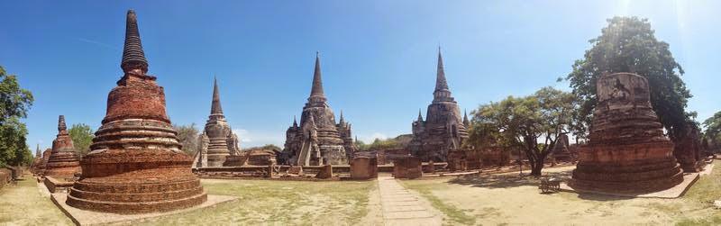 ruinas ayutthaya, Wat Phra Sri Sanphet
