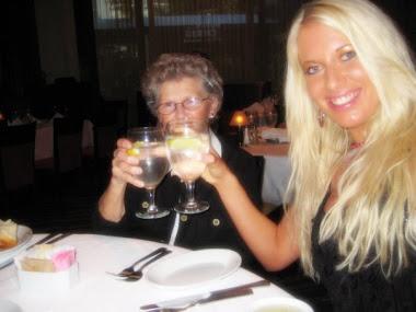 Candid Family Photo Shawn Rene & Her Grandma Health Fitness Cheers!