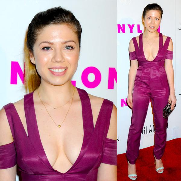 Jennette Mccurdy wears Peggy Li Creations necklace