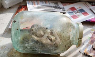 muumioitunut avaruusolento
