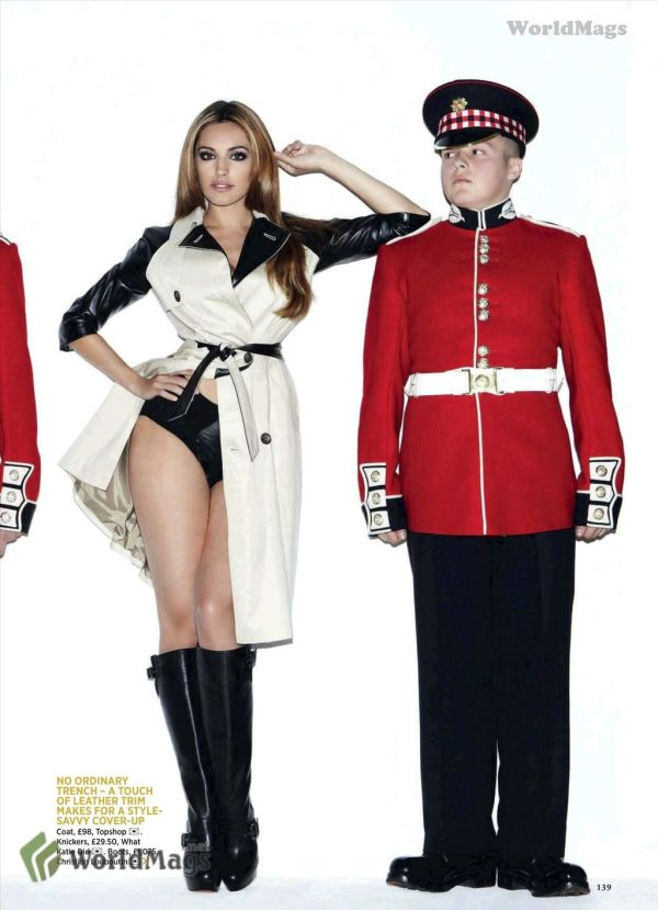 Kelly Brook UK Magazine October 2011