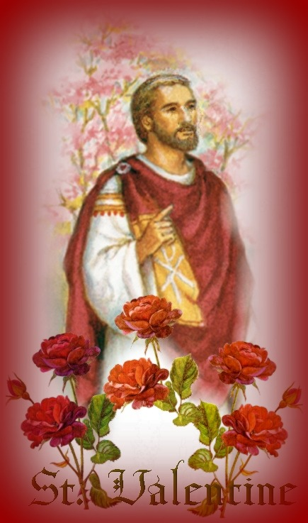 Image result for a picture of st valentine