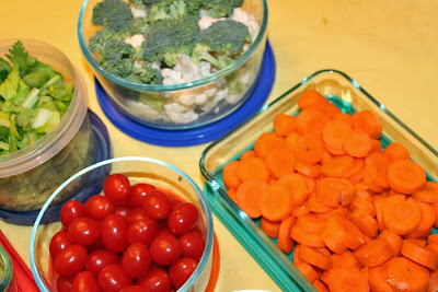 Storing veggies