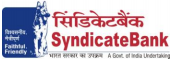Syndicate Bank Agri Assistant Clerk Recruitment 2012