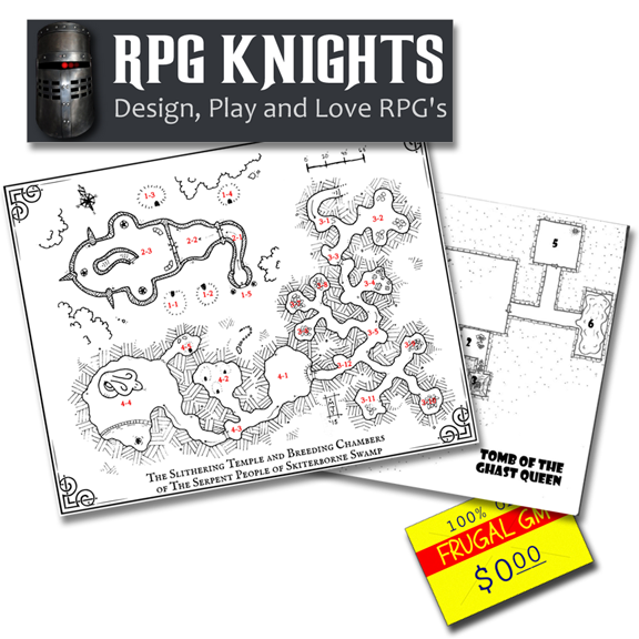 Free GM Resource: RPG Knights Adventures (and some bonus content!)