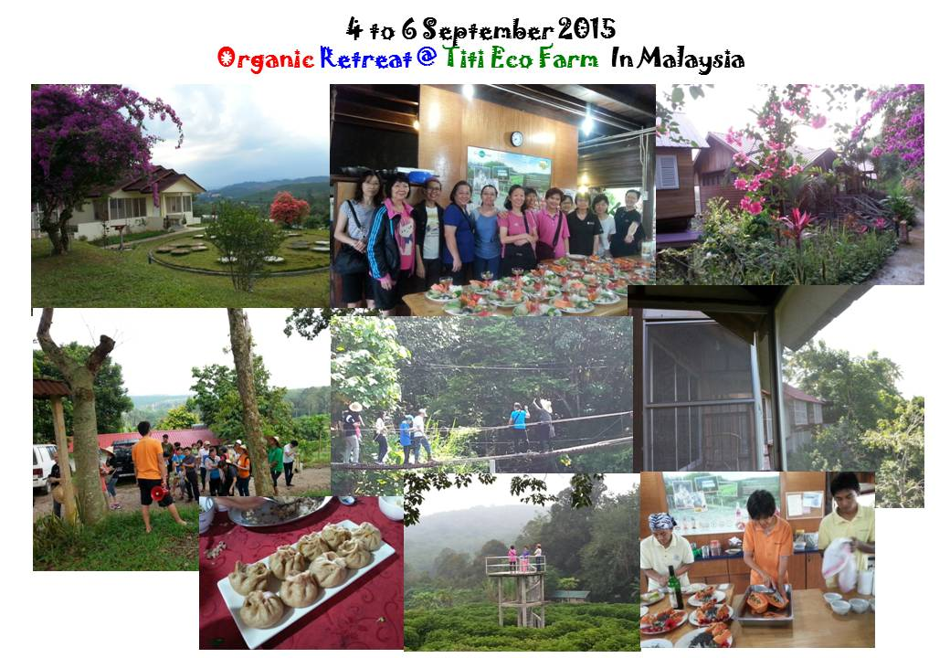 Organic Living Retreat @ Titi Eco Farm organised by NutriHub & TVS