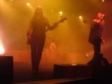 Amon Amarth, Bucuresti, Arenele Romane, 19 noiembrie 2011 - Ted Lundström si Johan Hegg