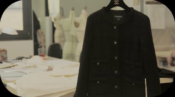 La petite veste noir chanel